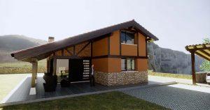 Diseño casa EZIO para construcción 3