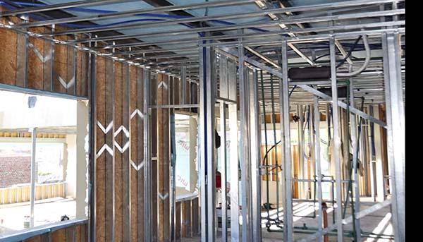 Construcción de casa Steel Framing