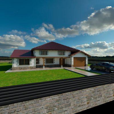 Diseño construccion casa MINA 1