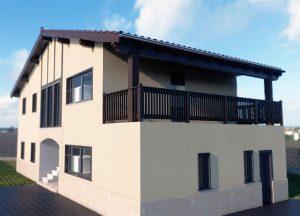Diseño casa BERAGO 01 para construir