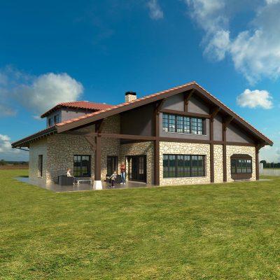 Diseño casa SOMO 00 para construir
