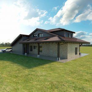 Diseño casa SOMO 02 para construir