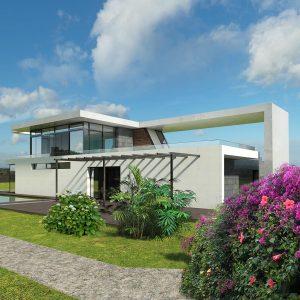 Diseño casa DASHA 01 para construir