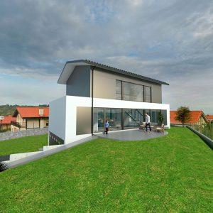 Diseño casa GIRO 00 para construir