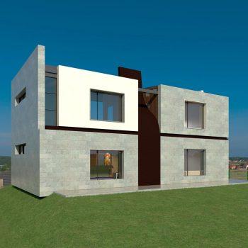 Diseño casa RENA 02 para construir