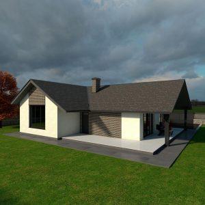 Diseño casa VERSA 02 para construir
