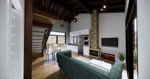 Diseño interior casa ALAMEDA para construcción 1