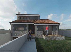 Diseño casa verde