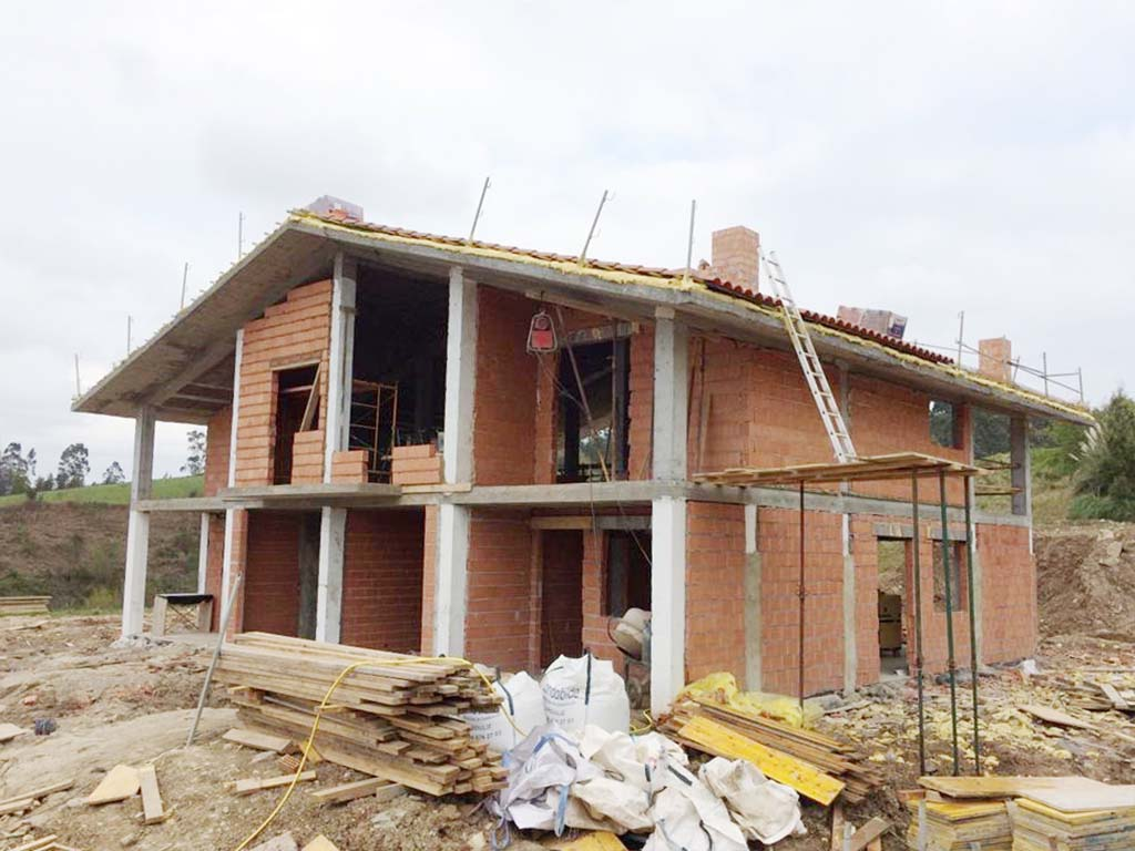 Resultado de imagen de vivienda en construccion